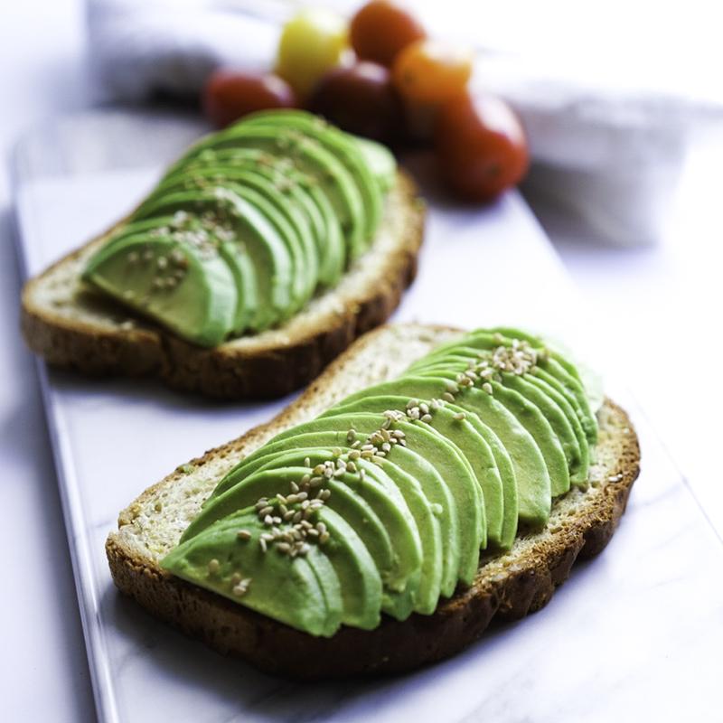 Avocado Toast Vegan GF Easy Breakfast