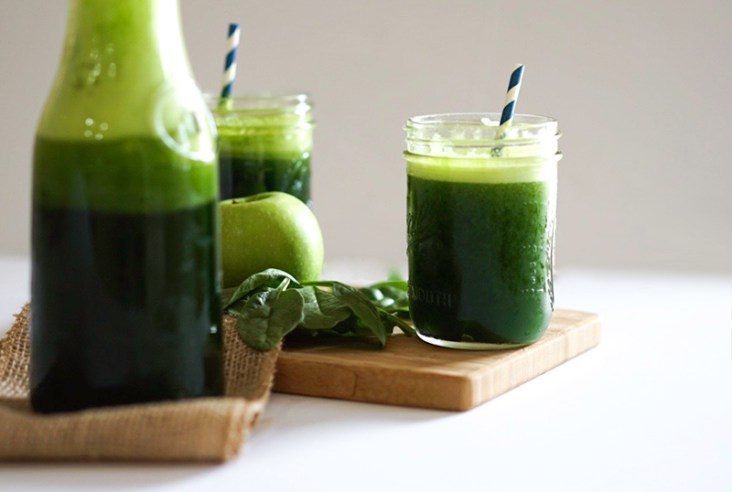 Green Apple Smoothie Vitamin Packed Goodness #myvegetarianfamily