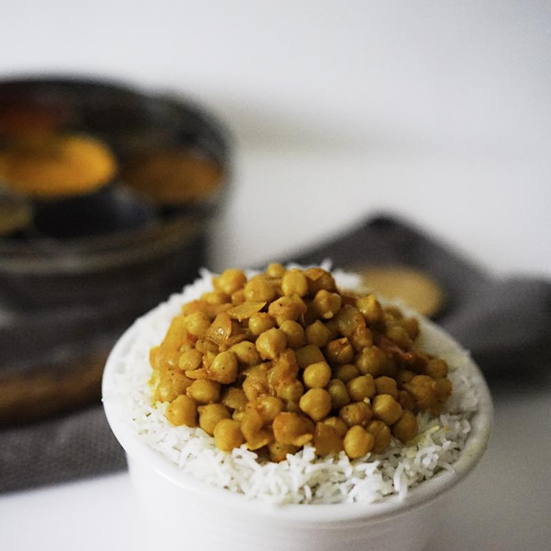 chana masala indian cickpea curry
