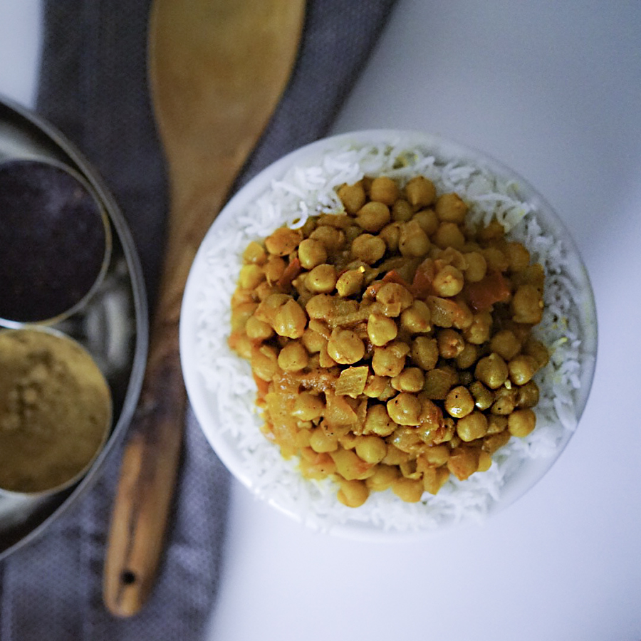 Indian Chickpea Curry Chana Masala Vegan GF