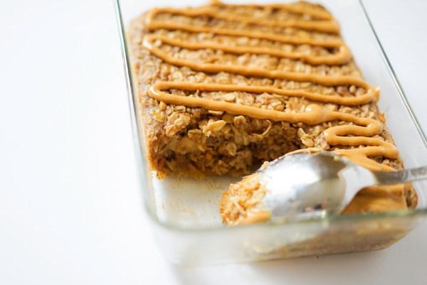 Baked Oatmeal Recipe #myvegetarianfamily #glutenfree #vegan