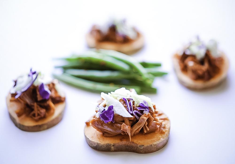 BBQ Jackfruit Sliders #vegan #myvegetarianfamily