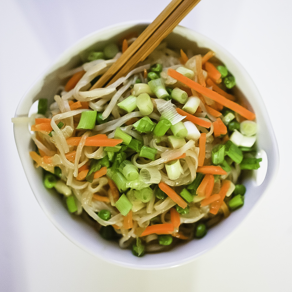 Fried Rice Noodles #vegan #glutenfree
