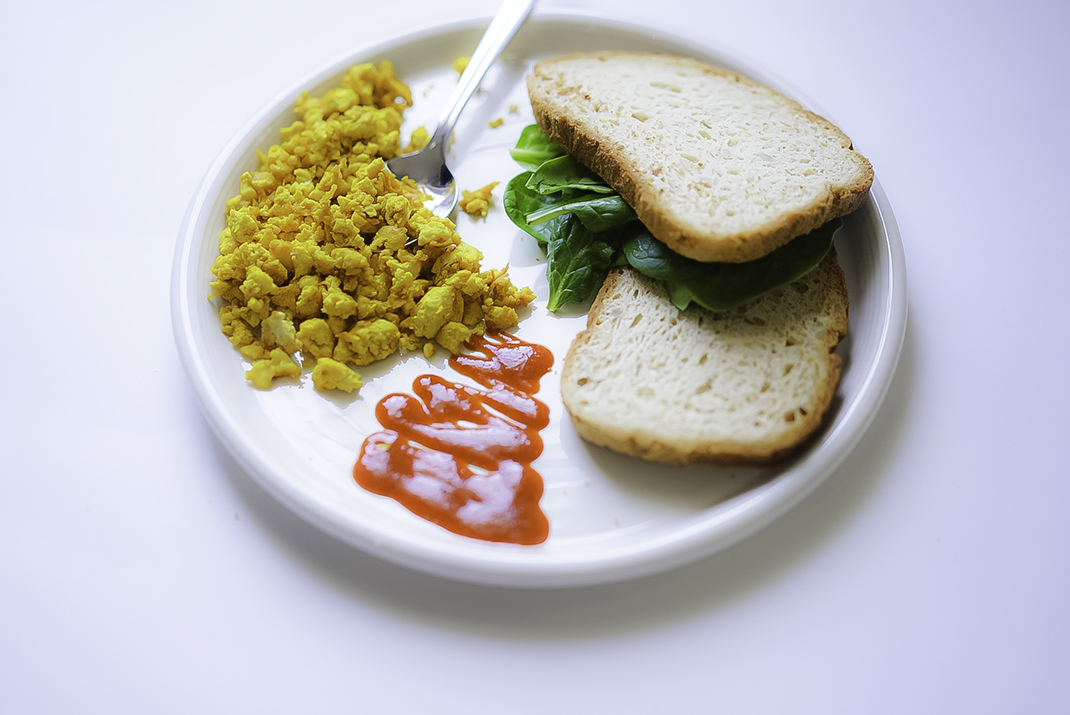 Easy Tofu Scramble #myvegetarianfamily