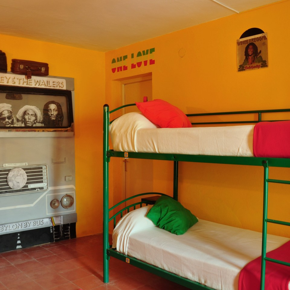giramundo hostel room
