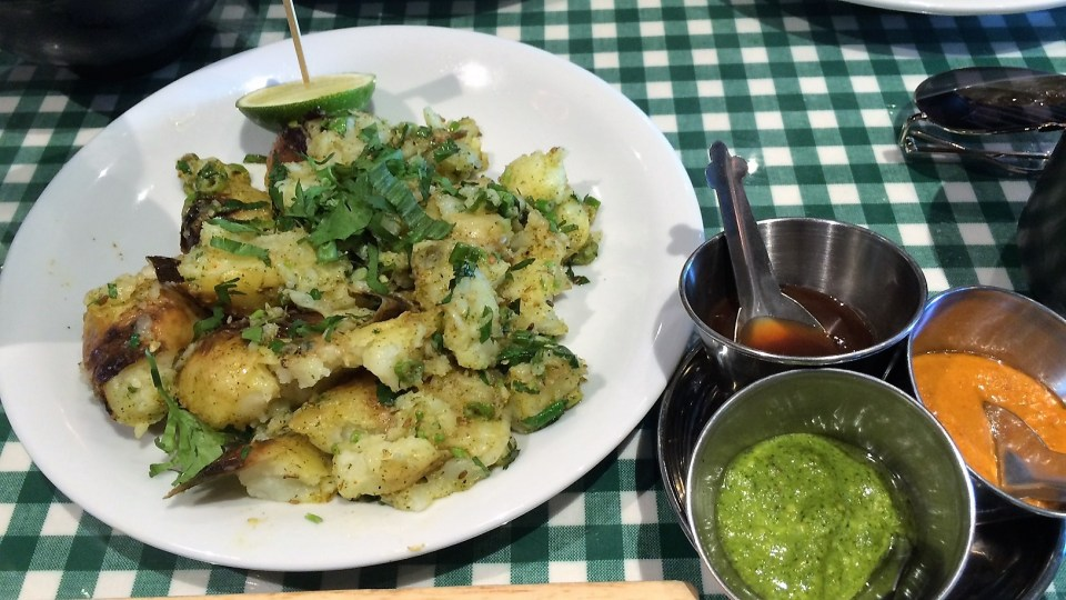 dishoom potatoes