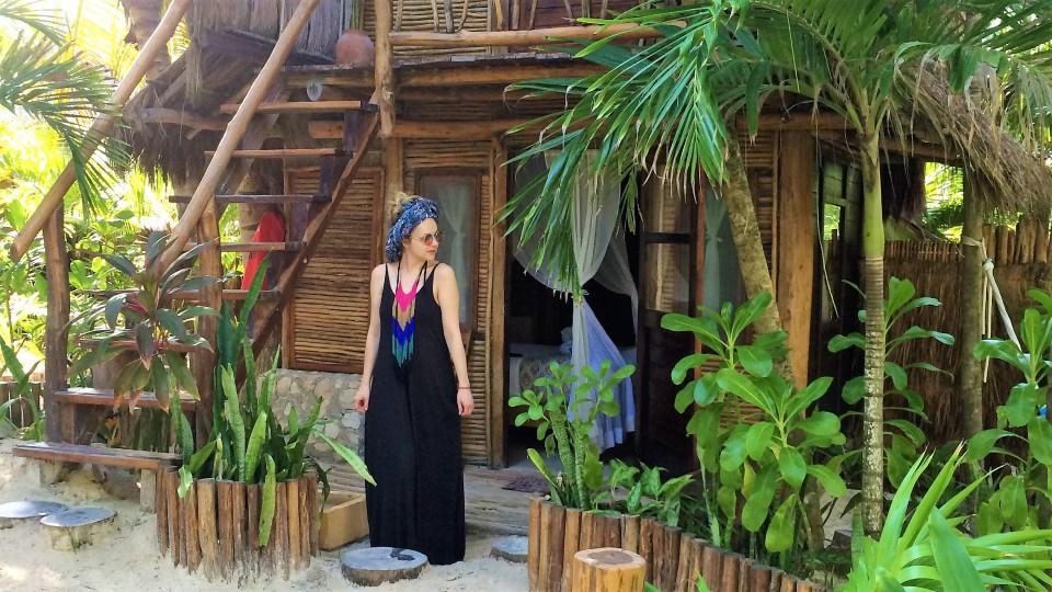 tulum beach hut