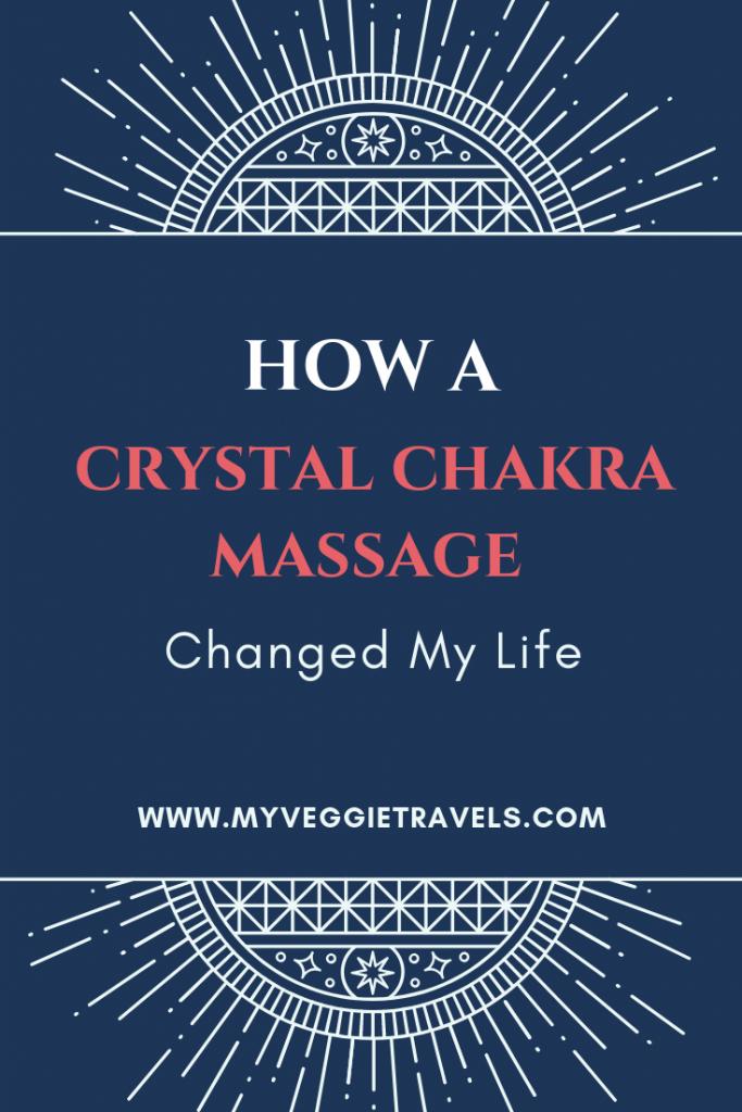 crystal chakra massage