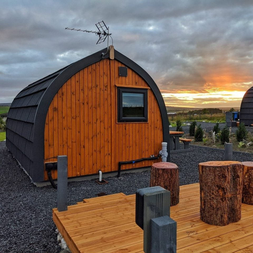 north star glamping scotland