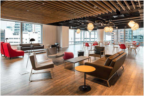 an effective office design not only impresses clients but also drives employee productivity you should in fact think of spaces for everything from serious - Interior Design Groups