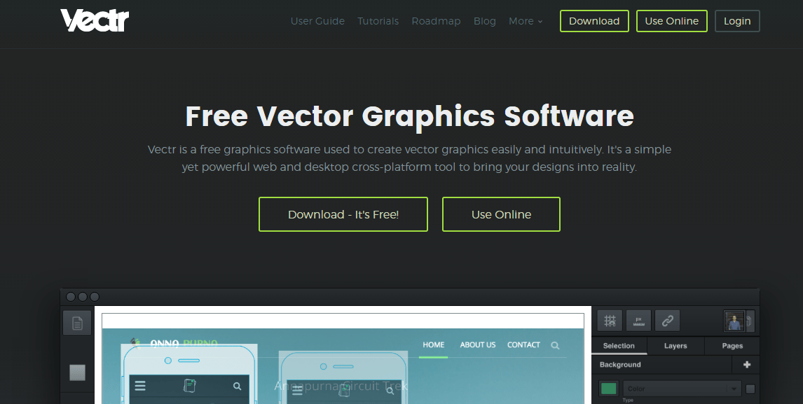 Vectr free and amazingly simple vector graphics editor Online vector editor