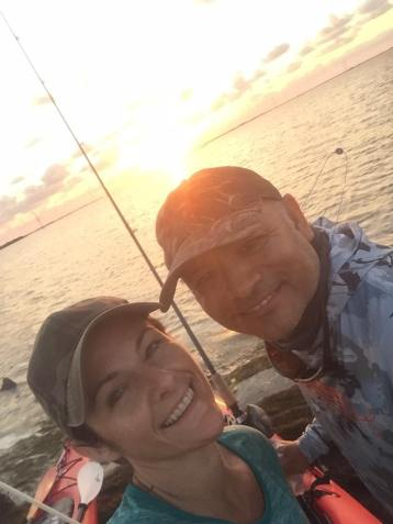 Sunrise-kayak-fishing-with-veterans