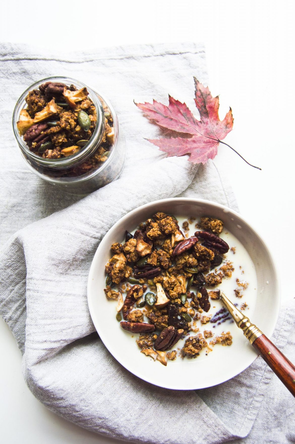 Vegan Autumn Spiced Granola