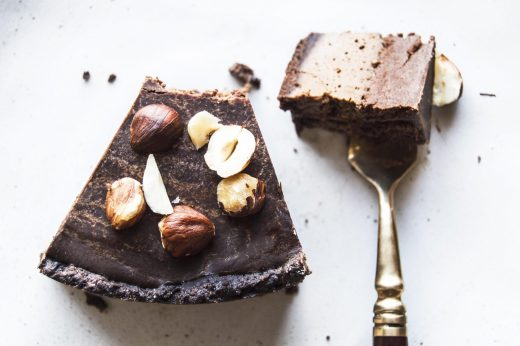 Vegan Mocha Chocolate Pie