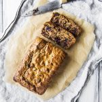 Vegan Banana Cranberry Chocolate & Pecan Loaf
