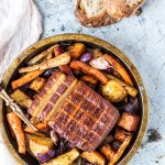 Super Easy One Pan Vegan Sunday Roast