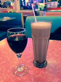 egg creme and wine