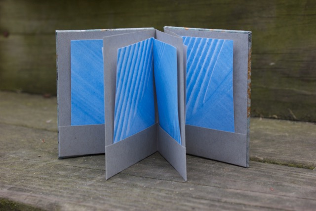 Accordion with Pockets (open pages, front view)