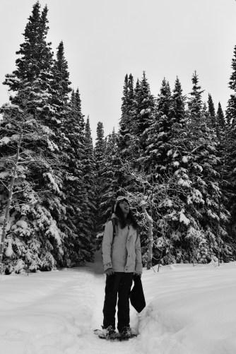 Catching snow. PC: Anna