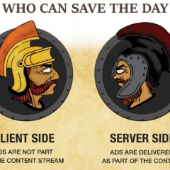 The Game Of Phone: Server Side Ad Insertion vs Client Side Ad Insertion [Infographic]