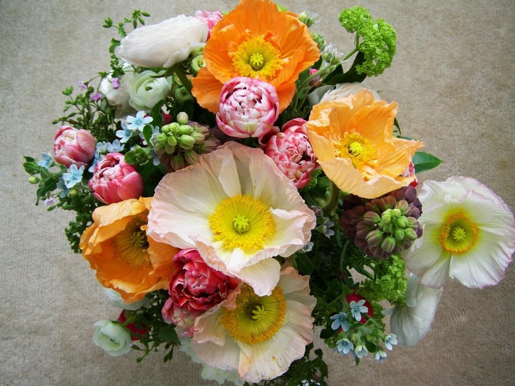 mixed flower