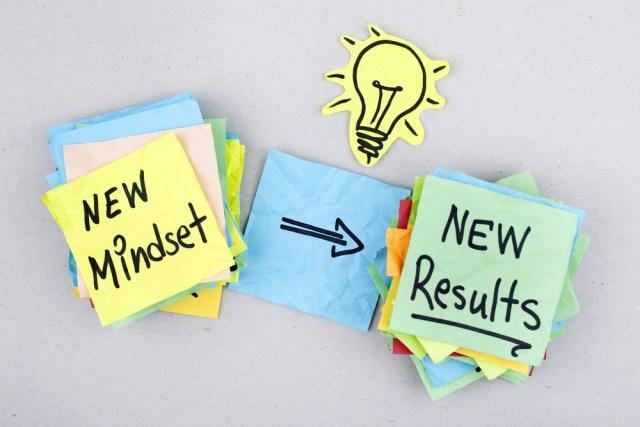 change in mindset image