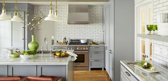 Stylish Kitchen Countertop Ideas for Your Flat