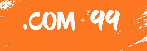 The .Com At Rs.99 BigRocks BIG Offer