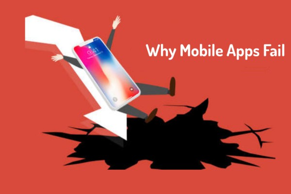 5 Common Reasons That Cause Failure Of Mobile Applications