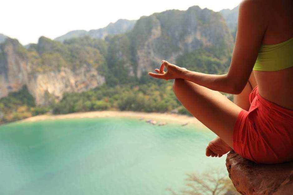 Indulge in meditation