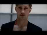 So gorgeous in fact that I did two screen caps of this scene because in this one Eric is looking at ME -- errr, YOU!!!