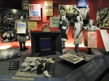 An exhibit dedicated to post-war challenges in the United States...