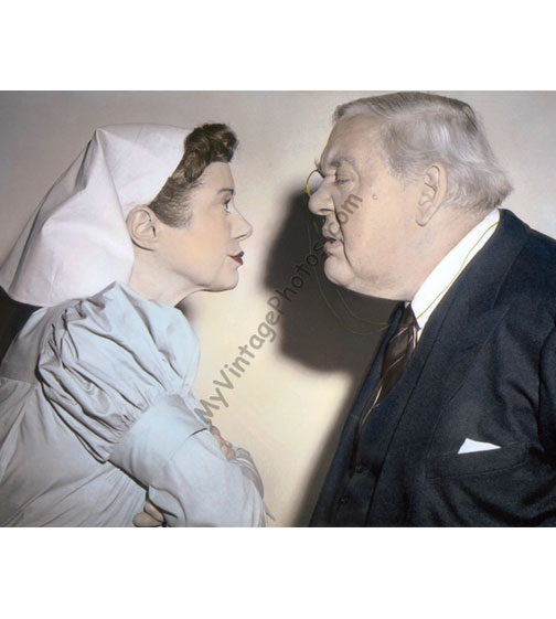 Elsa Lanchester & Charles Laughton, Witness for the Prosecution 1957