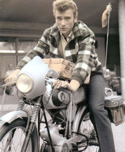 Johnny Hallyday Motorcycle