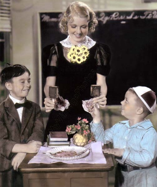 """Dean Switzer """"Alfalfa & George McFarland """"Spanky"""", Hearts Are Thumps, The Little Rascals """"Our Gang"""" 1937, The Little Rascals, Our Gang, HeartsAreThumps 1937"""