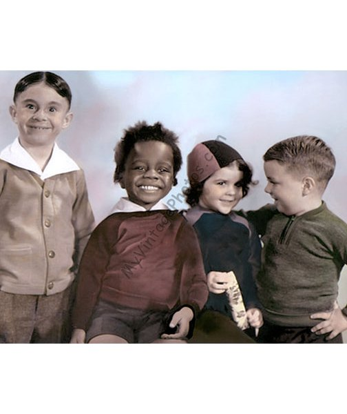 Alfalfa, Buckwheat, Darla & Spanky, The Little Rascals, Our Gang