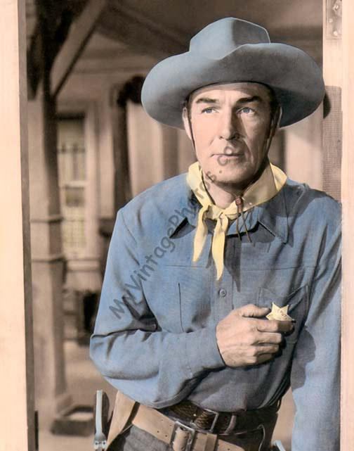 Randolph Scott, Ten Wanted Men 1955