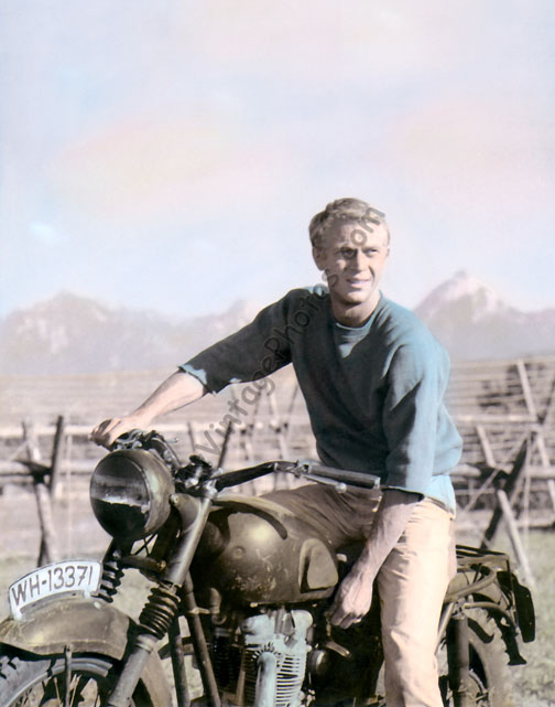 Steven McQueen The Great Escape Motorcycle