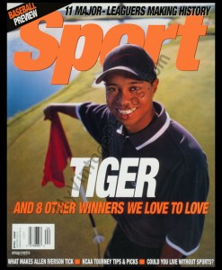 Tiger Woods April 2000