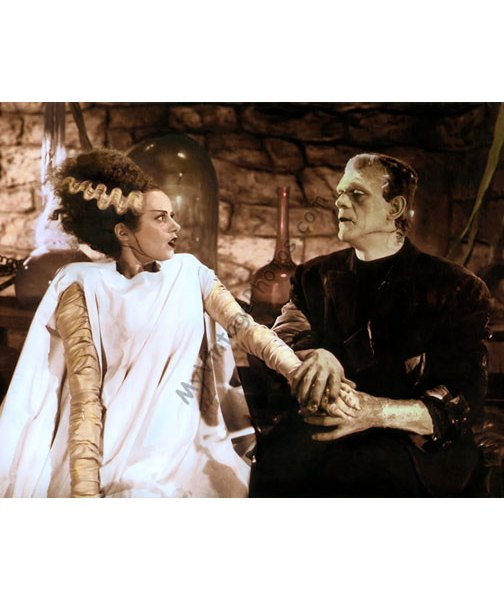 Elsa Lanchester & Boris Karloff, The Bride of Frankenstein