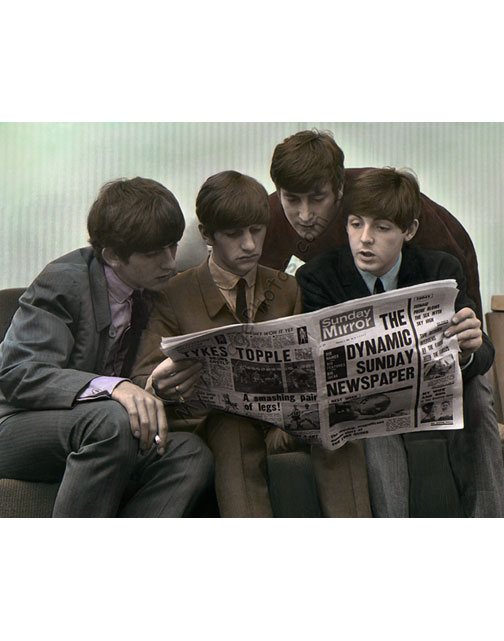 The Beatles, Sunday Mirror 1963
