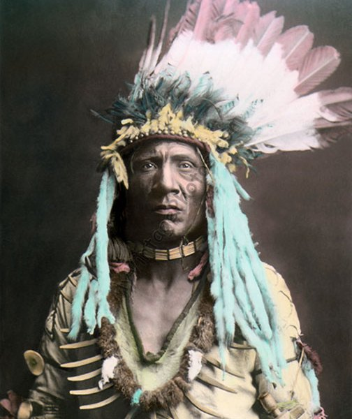 Weasel Tail, Peigan Blackfeet Native American Indian, 1900