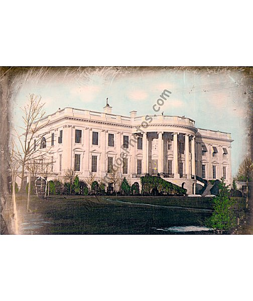 U.S. White House, Washington DC 1848