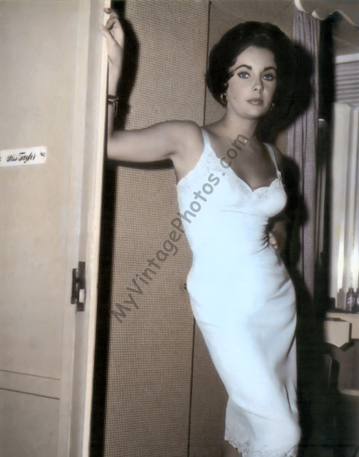 Elizabeth Taylor, Cat On A Hot Tin Roof 1958