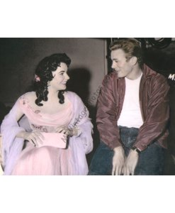 Elizabeth Taylor & James Dean, Giant 1956