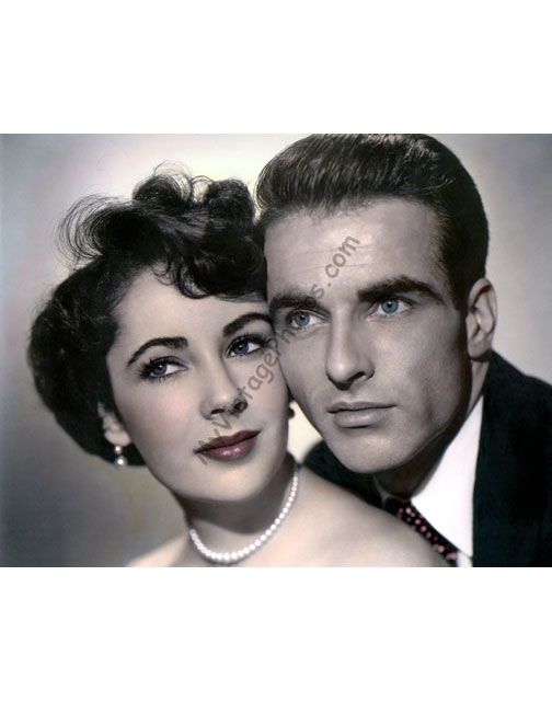 Elizabeth Taylor & Montgomery Clift, A Place in the Sun 1951