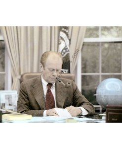 President Gerald Ford, Oval Office