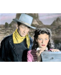 John Wayne & Gail Russell, Angel & The Badman 1947