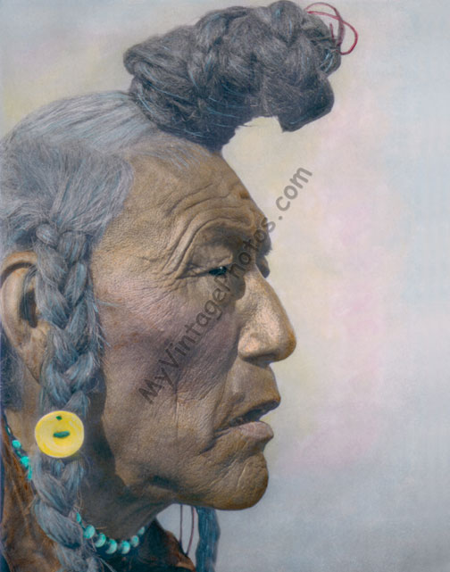 Bear Bull, Blackfoot Niitsítapi Native American Indian 1926