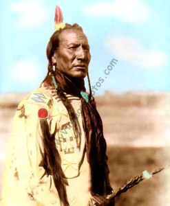 Big Mouth Spring, Blackfeet Native American 1910